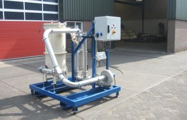 Belt Dryer test facility Netherlands