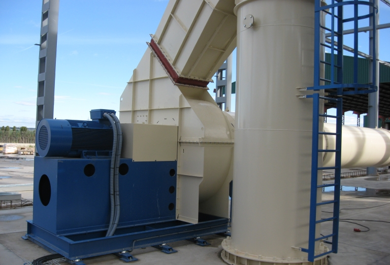 The processing of Alfalfa into feed pellets